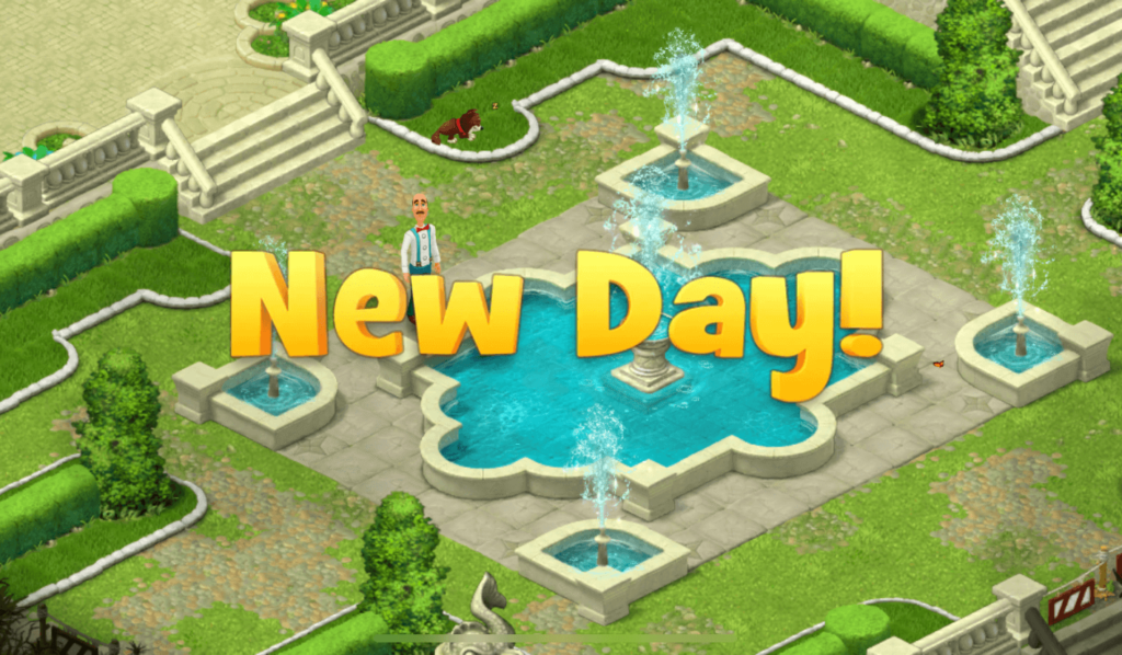 gardenscapes cheats start new day